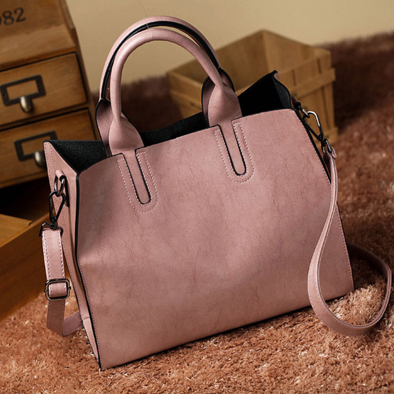 87ffe74c6f Leather Bags Handbags Women Famous Brands Big Casual Women Bags Trunk Tote  Spanish Brand Shoulder Bag Ladies large Bolsos Mujer-in Shoulder Bags from  ...