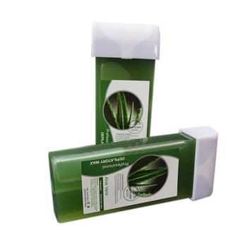 100G Depilatory Wax Cartridge Roll On Hot Depilatory Wax Cartridge Heater Waxing Body Hair Removal Aloe vera 2JU23