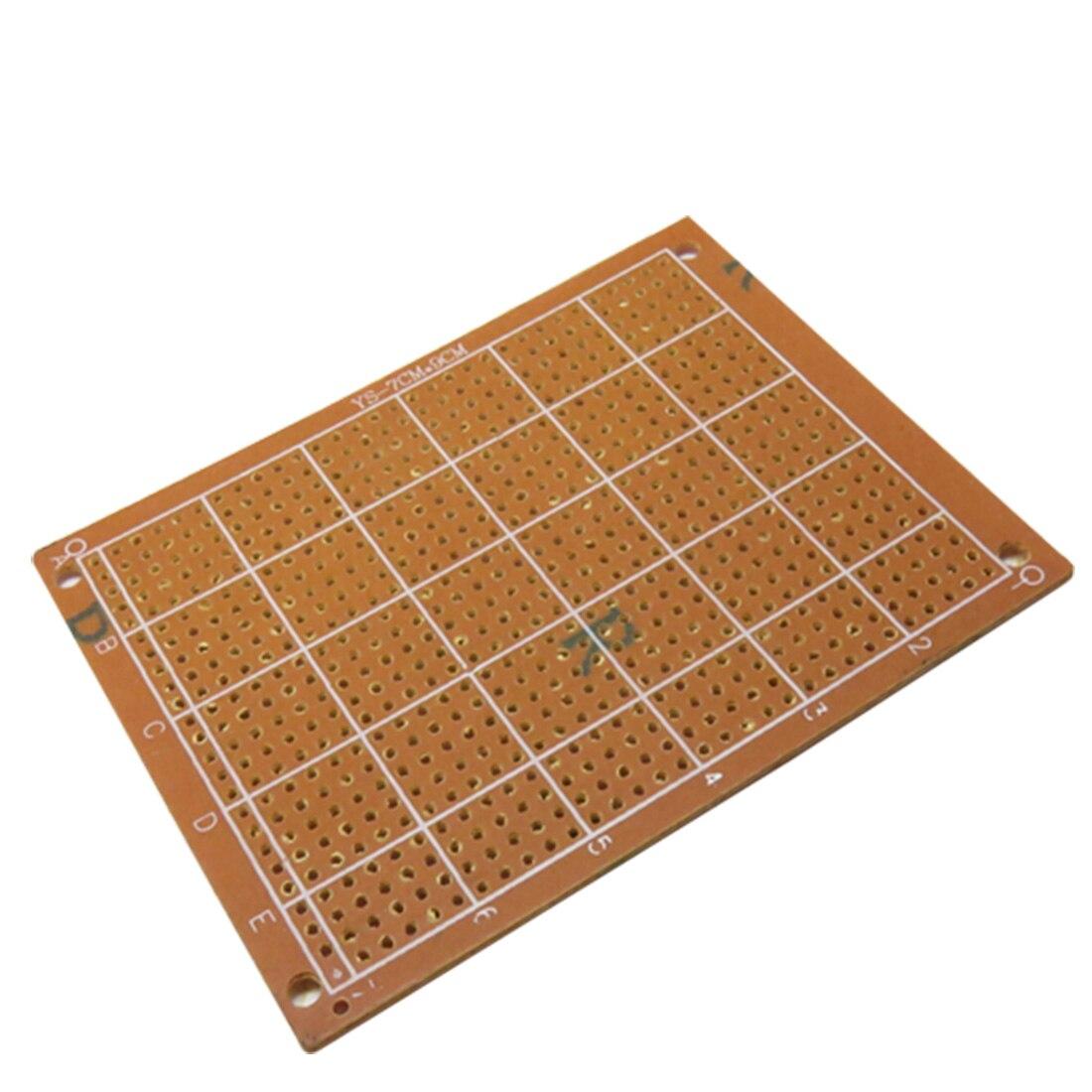 Top 7x9cm 7*9 DIY Prototype Paper PCB Universal Experiment Matrix Circuit Board 2pcs