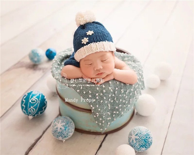 Newborn Popcorn Fabric Photography Wrap Baby Posing Dots Fabric Photography Blanket filler,pebble wrap buble fabric (150cmx50cm)