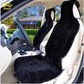 Auto capas de peles Da tampa do assento de carro universal 100% natural pele de carneiro pele costurada a partir de pedaços de pele de carneiro 2016 venda com desconto C001-B