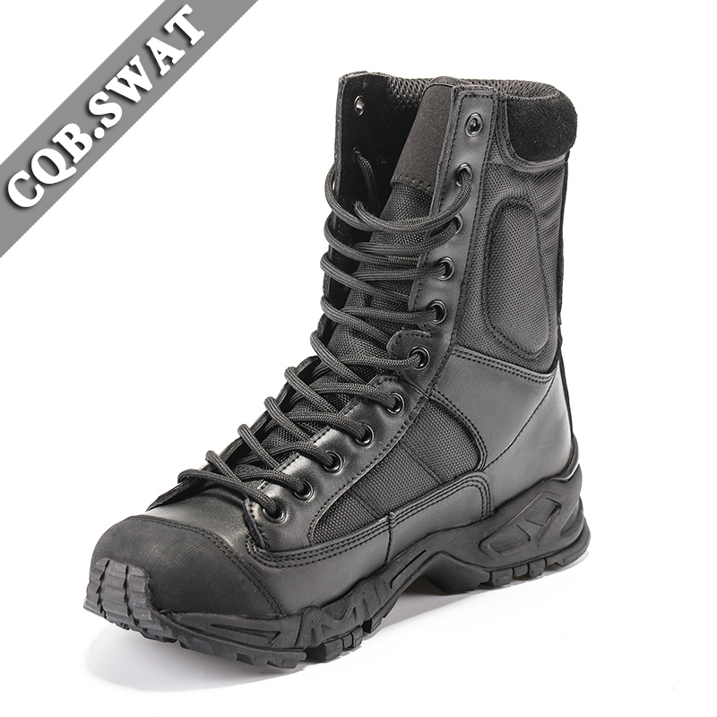 Outdoor Climing Hiking Tactical Boots Military Combat Boots Army black <font><b>mens</b></font> boots Breathable Wearable Sports Climbing Boot