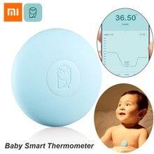 Termômetro digital xiaomi miaomiaoce, para bebês, medição constante, termômetro clínico, alarme em alta temperatura