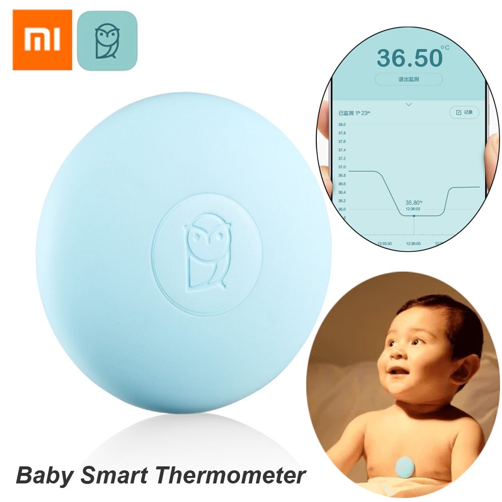 Xiaomi Miaomiaoce Digital Baby Smart Thermometer Clinical Thermometer Accrate Measurement Constant Monitor High-Temprature Alarm