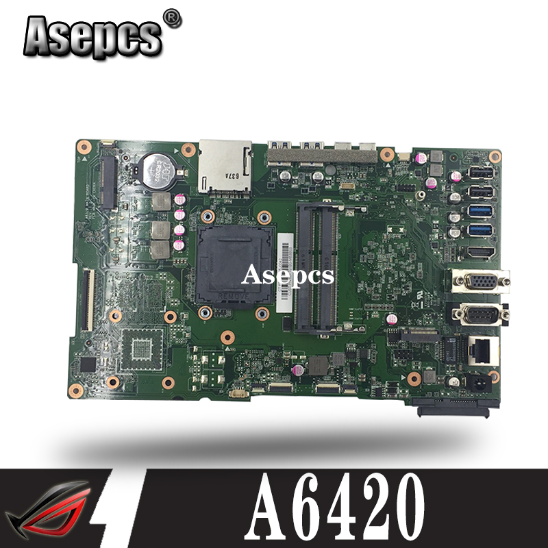 A6420 MAIN_BD._/UMA/TPM With G1840 Motherboard For ASUS A6420 All in one Desktop Mainboard 90PT01B0 R02000 DDR3 1600MHz Test OK|Motherboards| |  - title=