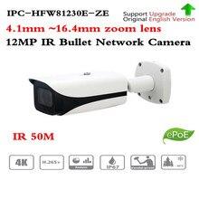 원래 Dahua IPC HFW81230E Z 4K ip 카메라 울트라 HD 슈퍼 12MP IP 카메라 50 미터 nightvision IPC HFW81230E ZE HFW81230E Z