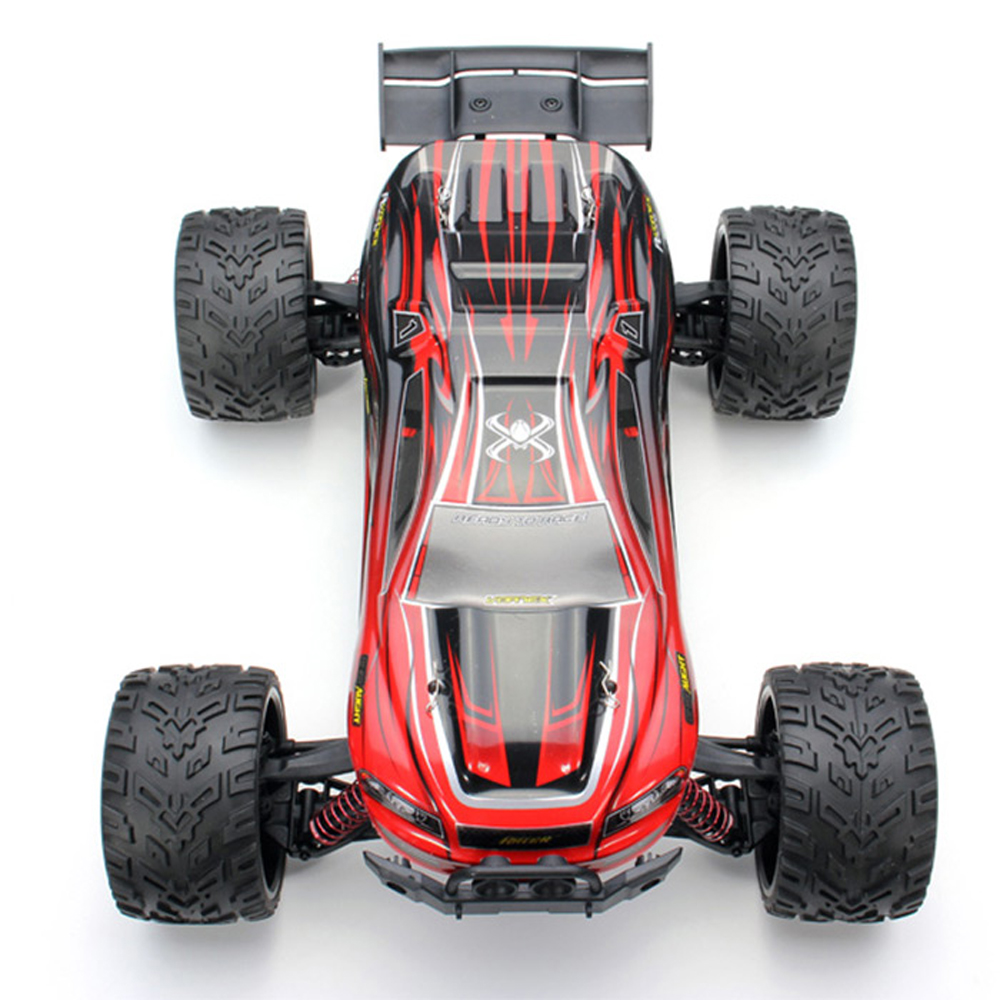 High quality 9116 1 / 12 Scale 2.4G 4CH Truck 2 - Wheel Drive Electric Racing Brushed Monster Car With 9.6V 700MA Battery Rc Toy high speed big rc car 9116 1 12 2wd brushed rc monster truck rtr 2 4ghz good children toy