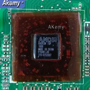 K52DR материнская плата для ноутбука For Asus K52DR A52DE K52DE A52DR K52D K52 тестовая оригинальная материнская плата AMD 1G видеокарта