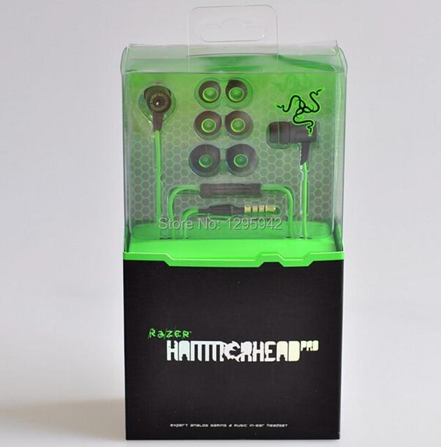 Razer Hammerhead Pro Headphone With Microphone In Retail Box Hammerhead Pro Earphone Noise Isolation Dropshipping