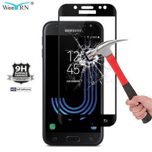 9H Hardness Tempered Glass for Samsung Galaxy J7 2017 SM-J730FM J730F Screen Protector Tempered Glass 2.5D for Samsung J7 2017