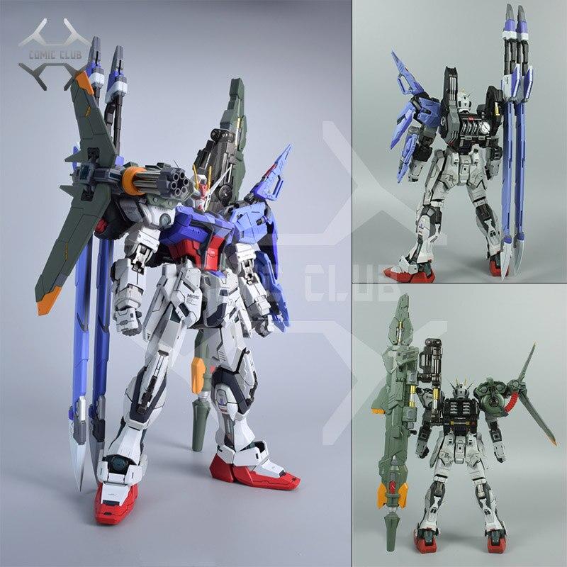 Bande dessinée CLUB en STOCK moshow poison jouets épée/lanceur arme pour 1/72 construction métallique frappe Gundam (ne contient pas Gundam)-in Jeux d'action et figurines from Jeux et loisirs    1