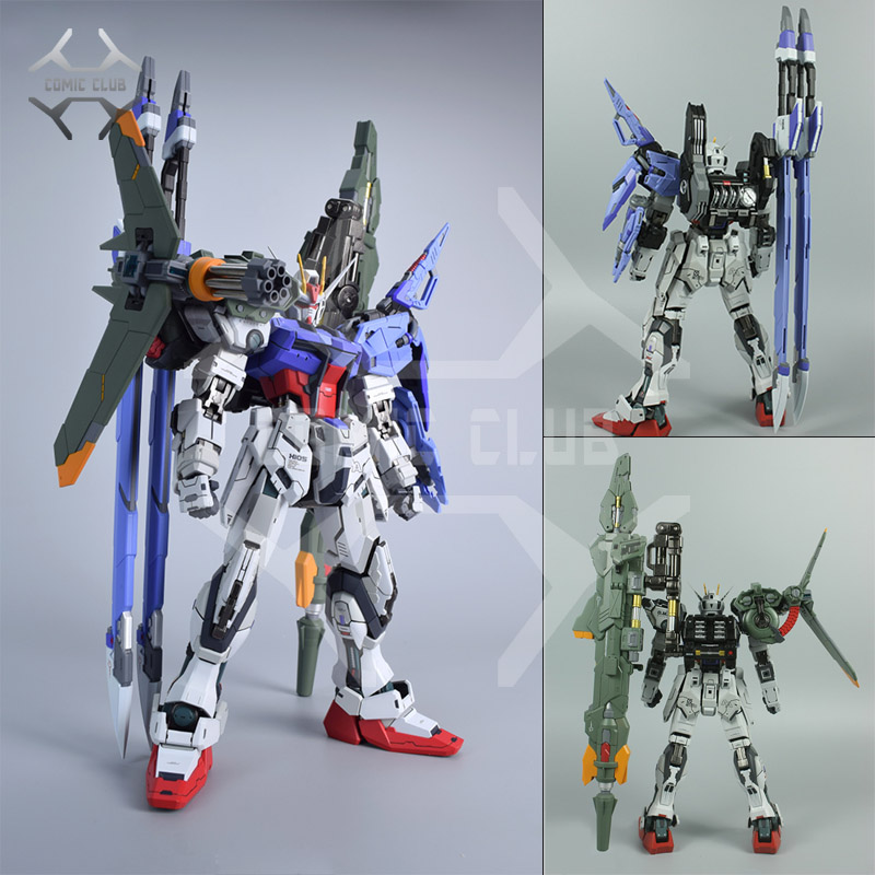 COMIC CLUB IN-STOCK Moshow Poison Toys Sword/launcher Weapon For 1/72  Metal Build Strike Gundam(not Contain Gundam)