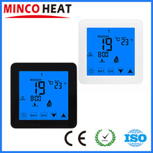 MINCO HEAT Thermoregulator LCD Touch Screen Room Temperature Controller Thermostat For Electric Heating Floor(China)