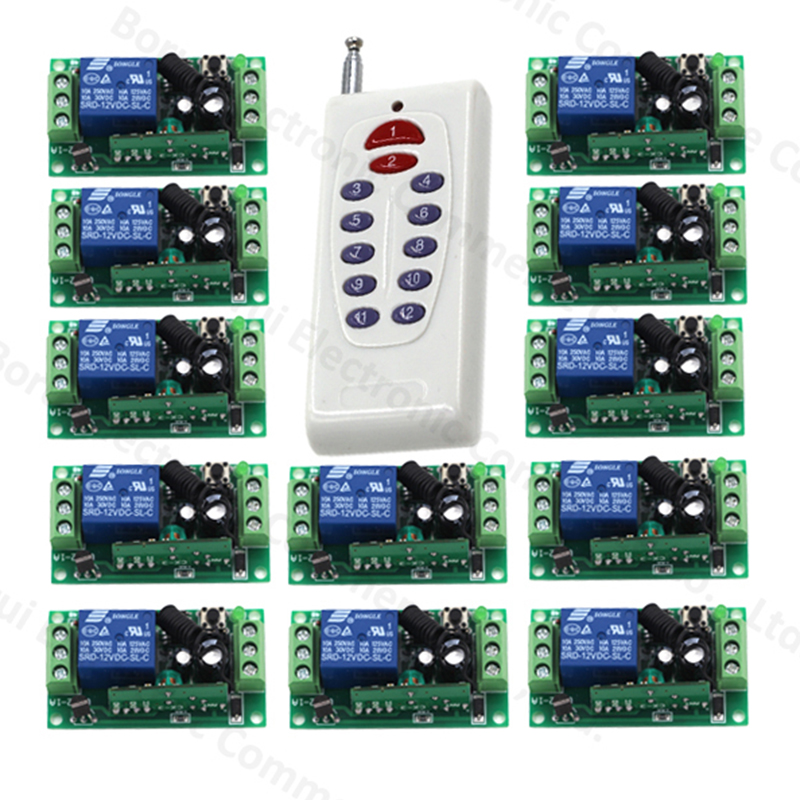 Remote control switch Wireless remote plug remote switch teleswitch Transmitter+Receiver 315Mhz/433Mhz ac220v 1ch rf wireless remote control switch system supply teleswitch 4 transmitter and 4 receiver learning code 315mhz 433mhz