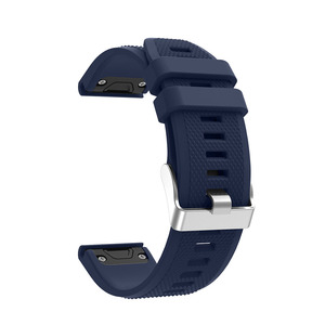 Image 4 - Silicone Bracelet Strap For Garmin Fenix 5/5 Plus Quick Release Easy Fit Watchband For Garmin Forerunner 935 945 Watch Band