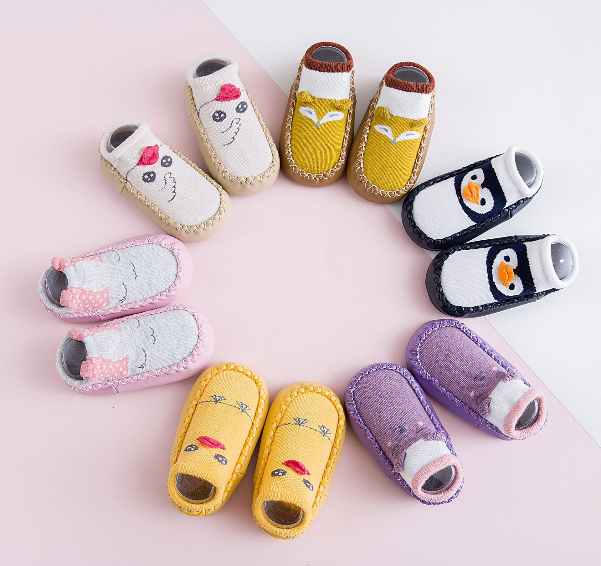 2018 Spring New Cotton Cartoon Baby Socks Kids Non-slip Floor socks Baby Moccasins Baby First Walker Shoes Toddler Socks Shoes winter jackets for girls kids fashion winter coat girls parka coats long thicken jacket 90% duck down warm children clothing