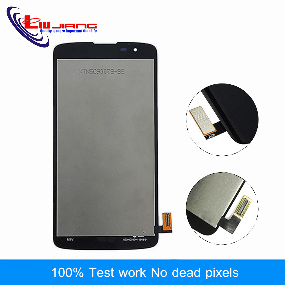 Liujiang New 5.0'' LCD For LG K8 LTE K350N K350E K350DS LCD Display with Touch Screen Digitizer Assembly Free shipping