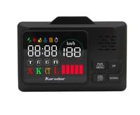 Karadar Car GPS anti radar detector 2 in 1 Police Speed GPS for Russian LED Display 360 Degree X K CT L with 2.4 inch display