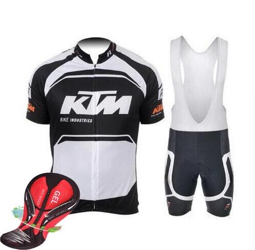 2016 KTM Vélo Vélo Jersey D'été Vtt Vélo Vêtements Vélo Manches Courtes Maillot Ciclismo Sportwear Vélo Vêtements