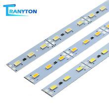 10pcs/lot LED Bar Light DC12V SMD 5630 36LEDs High Brightness LED Rigid Strip For Kitchen Cabinet Showcase 50cm Warm/Cold White