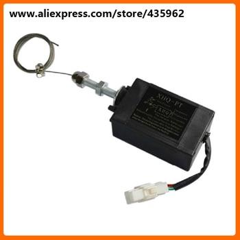 XHQ-PT solenoide de parada de piezas de motor diésel de 12V para generador de alta calidad genset pieza de repuesto