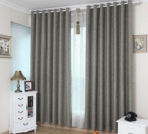 2 2 6 m de produto acabado cortinas modernas for Cortinas grises modernas
