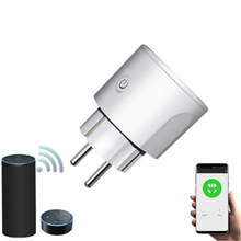 Smart WiFi EU Plug with Alexa APP Remote Control Timer Socket 16A Switch Samrt Google Home Electric Mini Socket PK SONOFF Xiaomi недорого