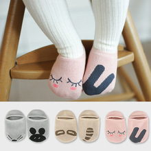 Unisex Baby socks floor sock baby boys socks girls kids Children cutu animal rabbit rat bear pattern socks cotton