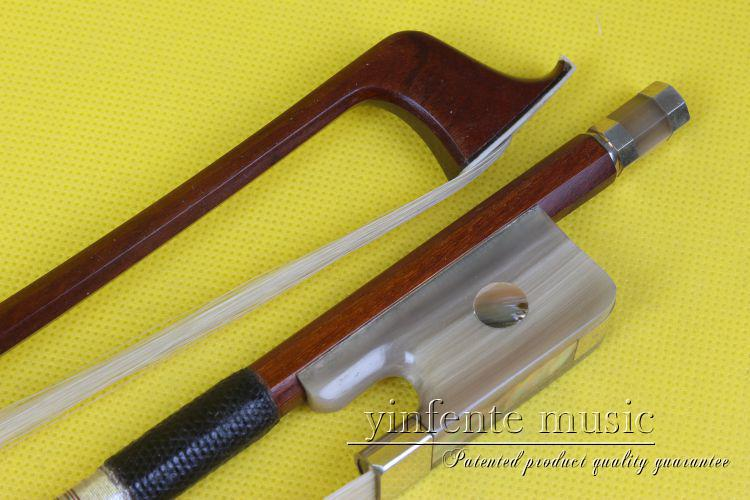 1  pcs 63#  Cello Bow BrazilWood Ox Horn f rog Silver String Parisian Eyes 4/4 New ng 87 one cello bow snakewood round stick french style parisian eyes 4 4 new
