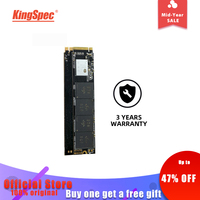 KingSpec M.2 SSD PCIe 120GB 240 GB 256GB 512GB NVMe SSD NGFF M.2 2280 PCIe NVMe Internal SSD Disk For Laptop Desktop