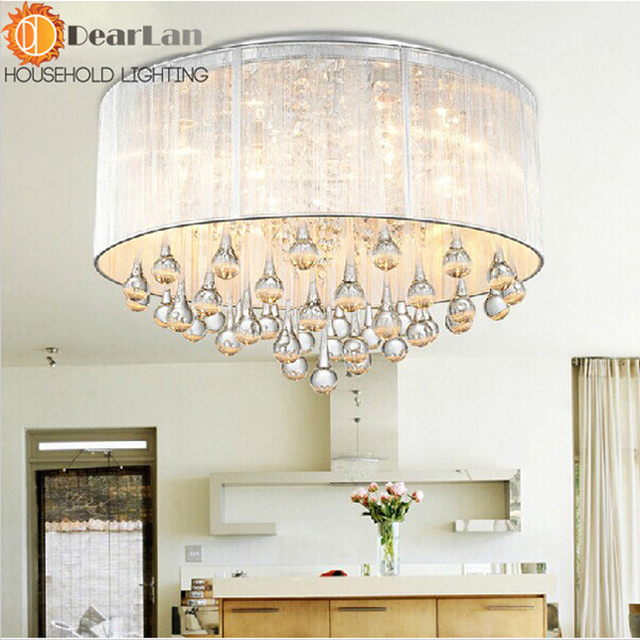 aliexpress : buy luxuriant crystal modern ceiling lamp light