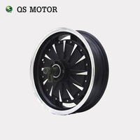 QS Motor 14inch 260 3000W Electric Motorcycle Kit E Motorcycle Kit Electric Motorcycle Conversion Kit
