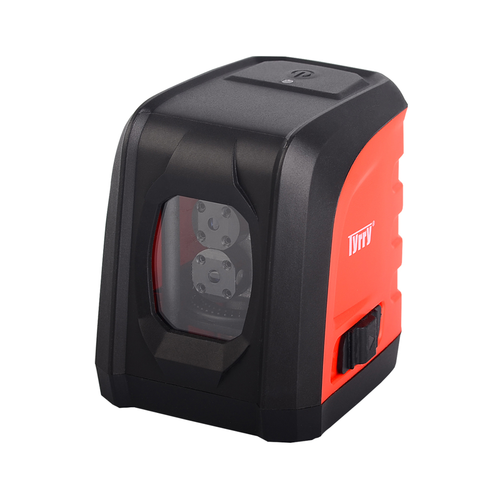 LL DR2 R2 2 Lines Red Laser Level Lithium Battery Horizontal and Vertical Cross Line Laser
