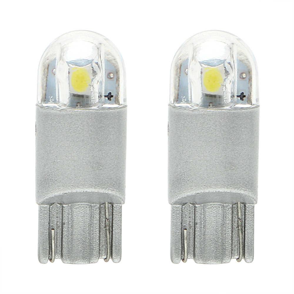 1 пара авто купольная лампа для чтения T10 W5W 3030 габаритный свет 168 194 багажная лампа светодиодный автомобильный номерной знак свет универсальный автомобильный Стайлинг