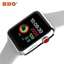 Смарт-часы серии 3 Smartwatch чехол для Apple iOS iPhone телефона Android W53 наручные часы Спорт Bluetooth браслет Фитнес трекер