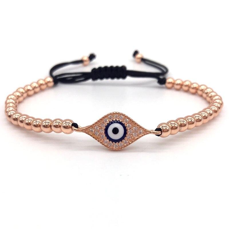 NAIQUBE 2018 New Fashion CZ Eye Series&4MM Round Beads ...