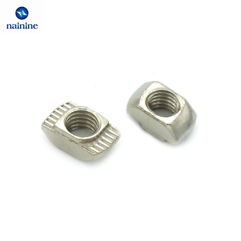 50pcs-m3-m4-m5-10-6-for-20-series-slot-t-nut-sliding-t-nut-hammer-drop-in-nut-fasten-connector-2020-aluminum-extrusions-hw109