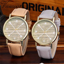 Vansvar Watch Candy Color Pointer pattern  Male And Female Strap Wrist Watch Stylish Unique Design Simple Style Watch M25