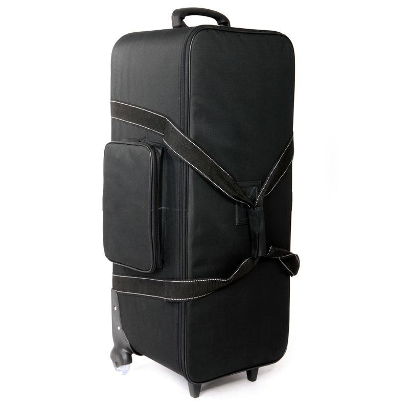 Adearstudio matériel Photographique studio flash caméra accessoires cc04 chariot bagages sac report lumière caméra sac insérer CD50
