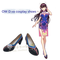 OW D Va Song Hana Cheongsam Cosplay Shoes Women Shoes Christmas And Halloween Party Cos Shoes