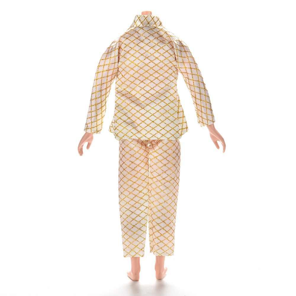 TOYZHIJIA 1 Conjunto traje de moda ropa para novio de Barbie Ken muñecas masculinas ropa hecha a mano para Ken muñecas Accesorios