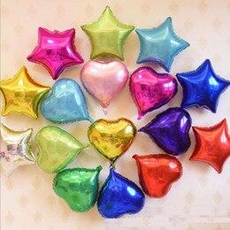 10pcs Heart Foil Balloons 10inch font b Valentines b font font b Day b font Wedding