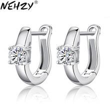 NEHZY – bague à quatre griffes en argent, bijoux en cristal, super flash rétro, modèles féminins mignons, vente en gros d'usine