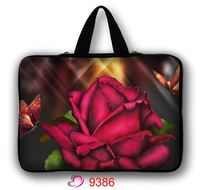 Red Rose Zachte Neopreen 10, 11.6, 13, 13.3, 14,15, 15.6, 17, 17.3 Inch Universal Laptop Sleeve Bag Case Computer Cover Pouch