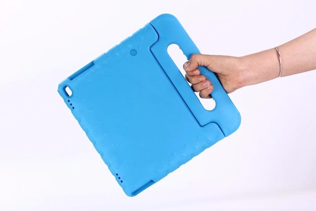 newest 360c5 64ce2 US $13.49 13% OFF TAB 4 10 TB X304F / X304N cover Kids EVA Silicone Safe  Shockproof Handle Stand shell Case For Lenovo TAB 4 10 Plus X704  10.1+pen-in ...