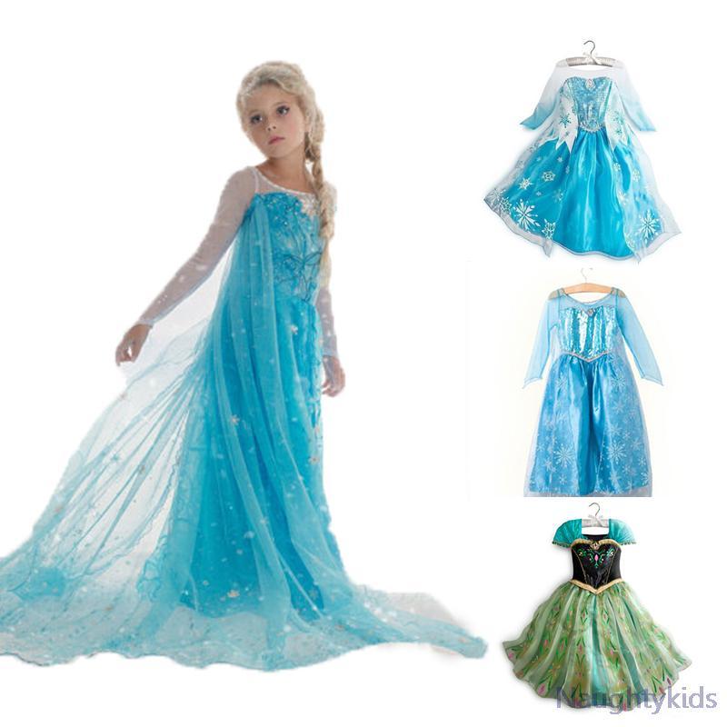 Купить платье анна и эльза