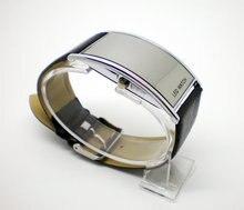 2016 Hot Sale leather watch women men unisex fashion sports Led Digital watch gift ed001