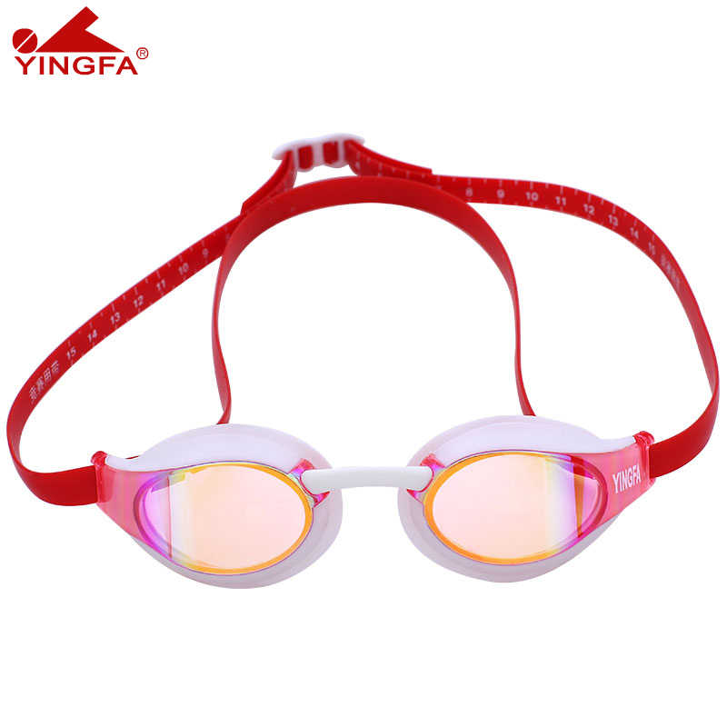 Yingfa New Professional Anti-Fog UV Protection Adjustable Swimming Goggles Men Women Waterproof silicone glasses adult Eyewear