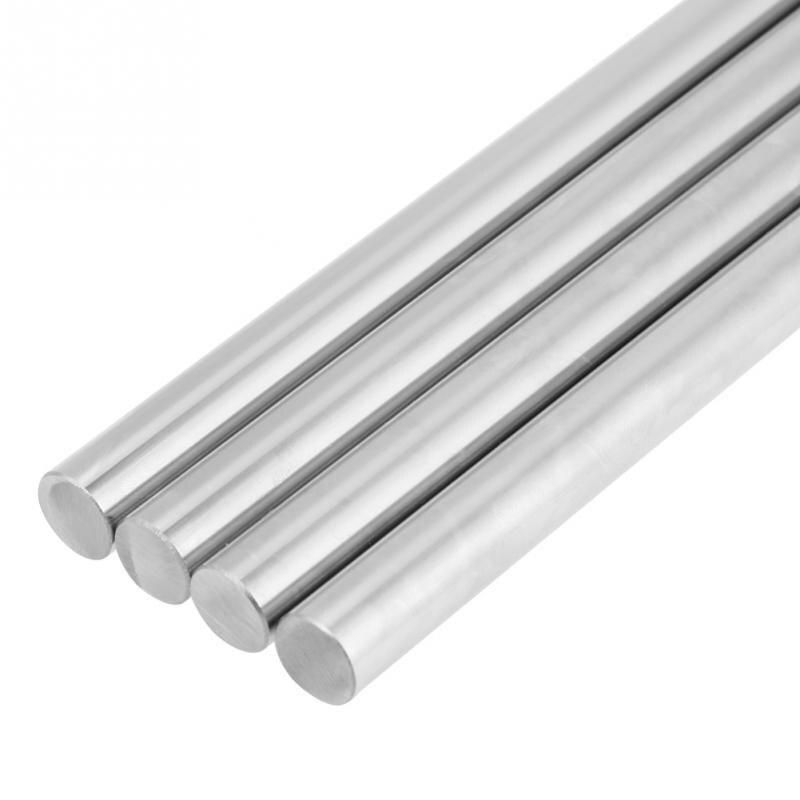 1 шт. подшипник стальной цилиндр рельса линейный вал прямой линейный подшипник движения вал круглый стержень CNC части 12 мм диаметр|Валы|   | АлиЭкспресс