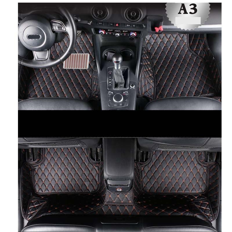 Audi A3 Floor Mats 2017
